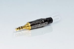 Wtyk mini jack 3.5mm stereo - Amphenol KS3PC-AU
