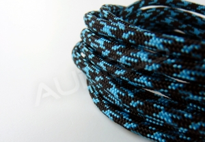 Nylon Soft 4mm BLACK-BLUE STAR