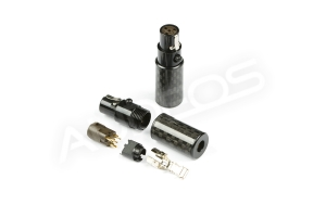PLUSSOUND wtyki 4pin Mini XLR SE (para)