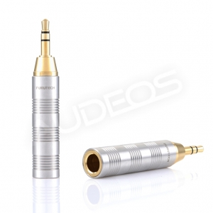 Furutech F35(G) - adapter jack 6.3 -> 3.5mm stereo