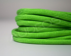 Nylon Soft 4mm Neon Green - oplot / peszel nylonowy